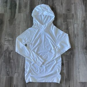 Women's Fabletics white sweater